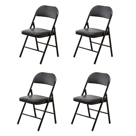 Awesome Amazon Com Qqxx Folding Chair Visitor Chair Conference Creativecarmelina Interior Chair Design Creativecarmelinacom