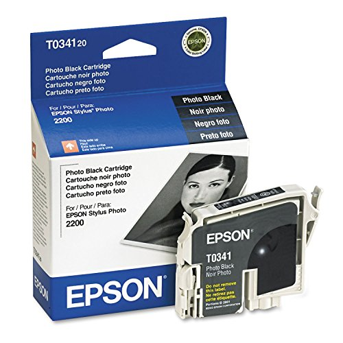 Epson INK, BLACK FOR THE STYLUS PHOTO 2200 (Epson T034120 Black Inkjet)