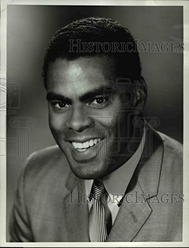 1971 Ncaa Basketball (1971 Press Photo Tom Hawkins sportscaster on NCAA Basketball Championships)