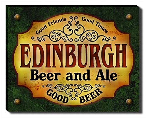 ZuWEE Edinburgh's Beer and Ale Gallery Wrapped Canvas Print