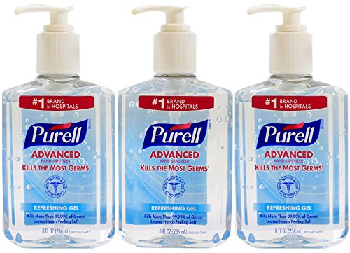 Purell Advanced Hand Sanitizer Bottle
