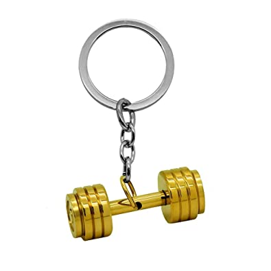 tumundo Llaveros Chiave Peso Fitness Culturismo Guantes de Boxeo Llavero-Coche Clave Colgante de Acero