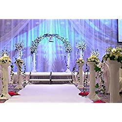 "Efavormart 4 Pillars/Set Wedding Event Decorative Columns 31"" Tall (Ajustable PVC Columns)"