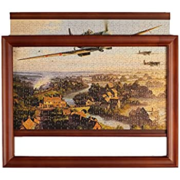 Amazon Com Jigframe Dark 500 Small Jigsaw Puzzle Frame