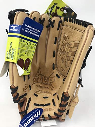 (Mizuno MVP Fastpitch GMVP1309 Softball Fielder's Mitt (13-Inch, Left Handed)