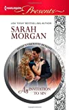 An Invitation to Sin, Sarah Morgan, 0373131526