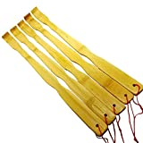 These Bamboo back scratchers are very strong and sturdy. We offer a multiple options so everyone around you can enjoy this amazing back scratcher. Skinny enough to fit in small places such as backpacks, luggage, slots, etc. Flexible so you ca...