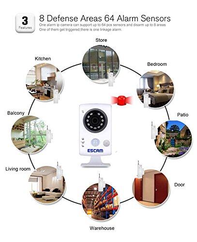 Survalliance Cameras,Mini WIFI IP HD Camera 720P PT CCTV