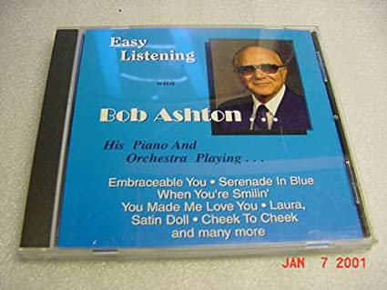 edd471fdde2 Amazon.com   Audio Music CD of EASY LISTENING With BOB ASHTON His Piano and  Orchestra.   Other Products   Everything Else