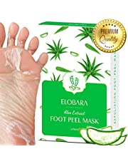 Foot Peel Mask, Exfoliating Calluses and Dead Skin for Soft Baby Feet, 2 Pairs, Repair Rough Heels Painlessly, Leave Your Feet Moisture and Smooth