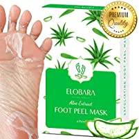 Foot Peel Mask, Exfoliating Calluses and Dead Skin for Soft Baby Feet, 2 Pairs, Repair Rough Heels Painlessly, Leave...