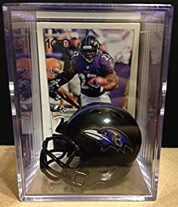 Baltimore Ravens NFL Helmet Shadowbox w/ Ray Rice card