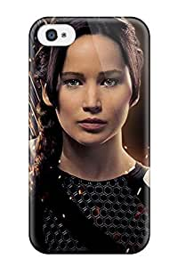 CATHERINE DOYLE's Shop Best 4659984K56645649 New Premium Case Cover For Iphone 4/4s/ Jennifer Lawrence As Katniss Protective Case Cover