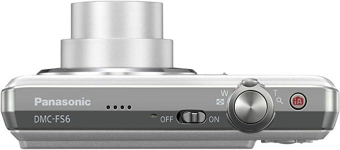 Panasonic Lumix Dmc Fs6 Digitalkamera 2 5 Zoll Silber Kamera
