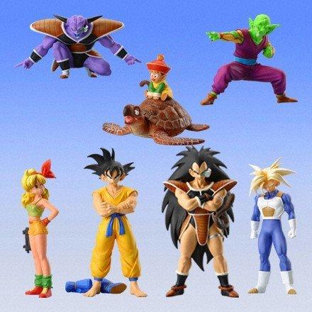 (Gashapon HG series Dragon Ball Z 3 ~ alien warrior Hen all seven sets of mystery)