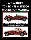 MG MIDGET TC-TD-TF-TF1500 WORKSHOP MANUAL