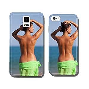 Girl at the sea cell phone cover case iPhone6 Plus