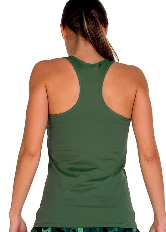 a40grados Sport & Style, Camiseta Cossi, Color Verde Oliva, Mujer ...