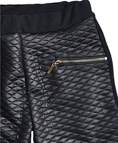 LotMart Girls Blazer Bundle Textured Leggings Style 3 in Mint Black 5-6 Y by LotMart (Image #3)'