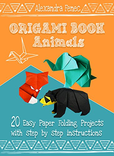 Origami Book Animals 20 Easy Paper Folding Projects With Step By Instructions