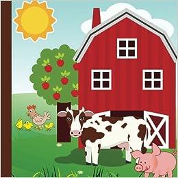 Farm Animals Party Guest Book: Plus Printable Farm Animal Party