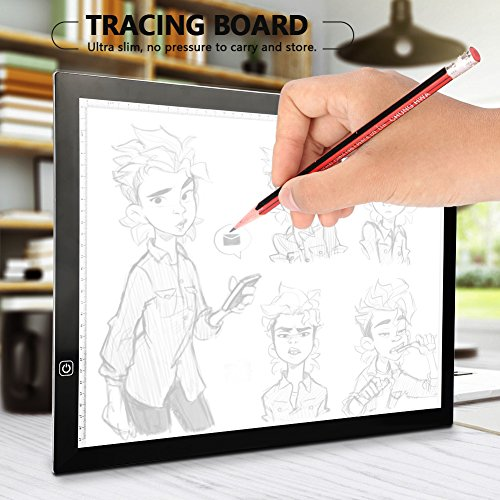 A3 LED Tracing Light Box Stencil Drawing