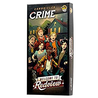 Lucky Duck Games Chronicles of Crime Welcome to Redview