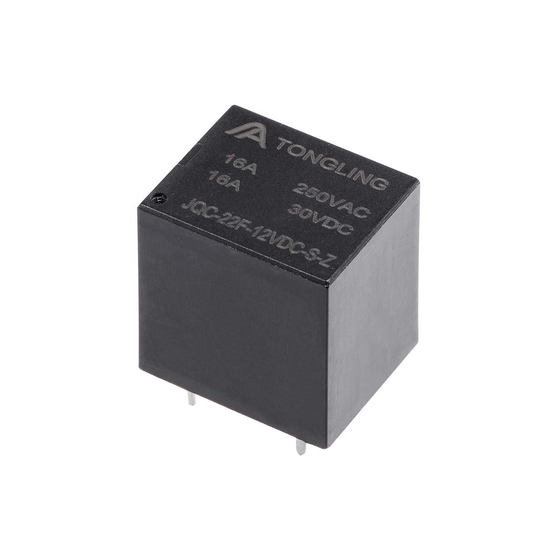 uxcell 1 Pcs JQC-22F-12VDC-S-Z DC 12V Coil SPDT 5 Pin PCB Electromagnetic Power Relay NO+NC