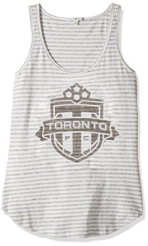 MLS Toronto FC Women's Tank Top, X-Small, Sun/Grey
