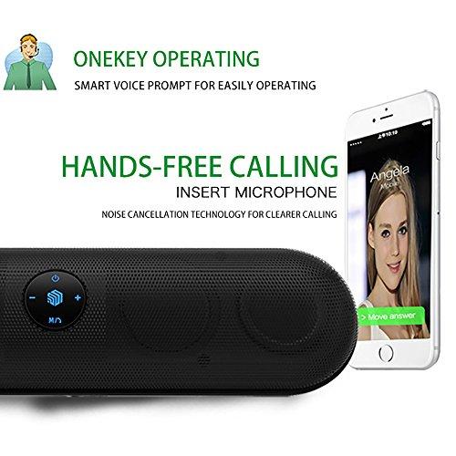 Altavoces Bluetooth - Altavoz inalámbrico con micrófono manos libres + Potencia de salida de alta calidad: Altavoces Bluetooth de 6W: Amazon.es: Electrónica