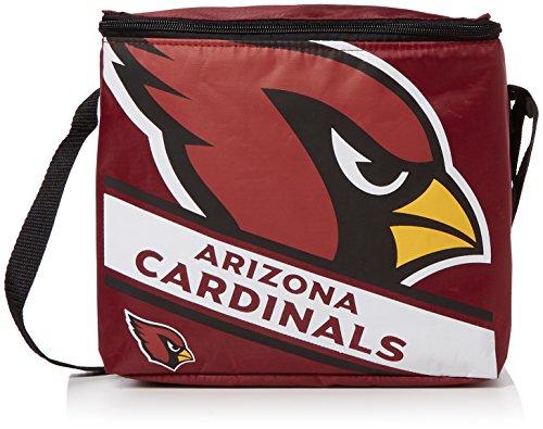 Arizona Cardinals Big Logo Stripe 12 Pack Cooler ()