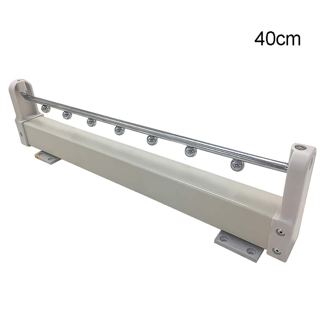 FKKURACK Porte-Manteau Extensible tiroir Organisateur (40cm)