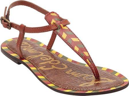 Painted Sandals Sam Fashion Gigi Women's Edelman Saddle z0xnYq6Rw