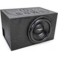 Skar Audio Single 12 1500 Watt Subwoofer Package - Includes DDX-12 D4 Subwoofer in Armor Coated SPL Vented Enclosure
