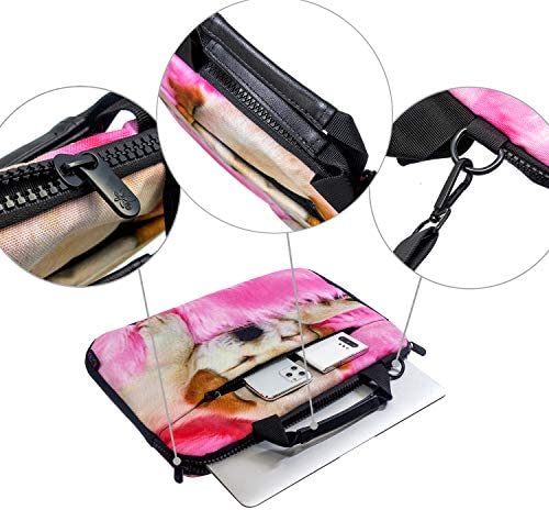ICOLOR 14.5 15 15.4 15.6 Inch Laptop Messenger Bag Protective Shoulder Sleeve Case