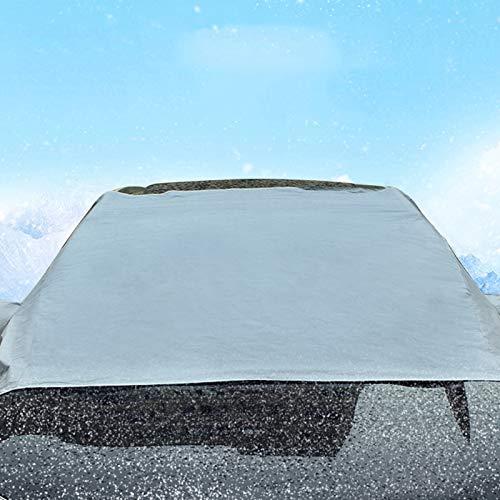 Gaoominy Cubierta del Parabrisas del Coche Protector de Sombra Solar Guardia de Escarcha Polvo Lluvia Hielo Nieve de Invierno