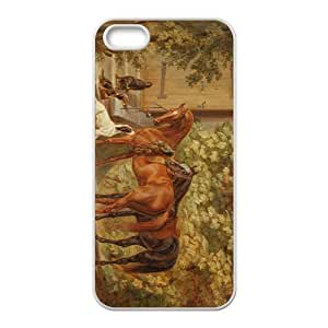 linJUN FENGThe Horse Hight Quality Plastic Case for Iphone 5s