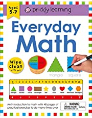 Wipe Clean Workbook: Everyday Math (enclosed spiral binding): Ages 5-7; wipe-clean with pen