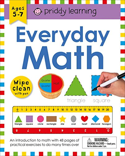 Wipe Clean Workbook: Everyday Math (enclosed spiral binding) (Wipe Clean Learning Books) -
