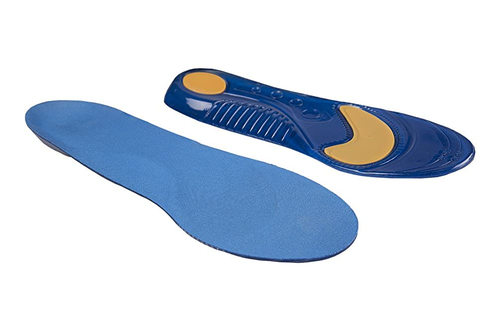 3 Pair Pro Series Orthotic Gel Running Insoles For Plantar Fasciitis Shin Splints and High Impact Sports