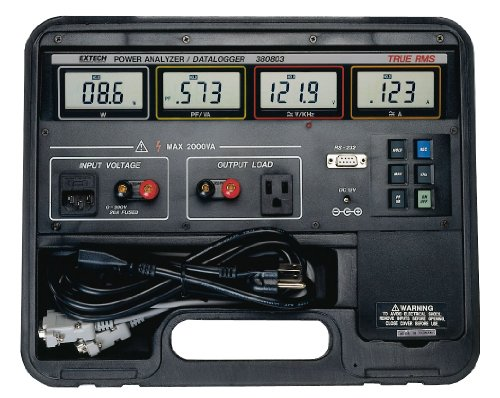 Extech 380803 True RMS Power Analyzer/Appliance Tester and Datalogger