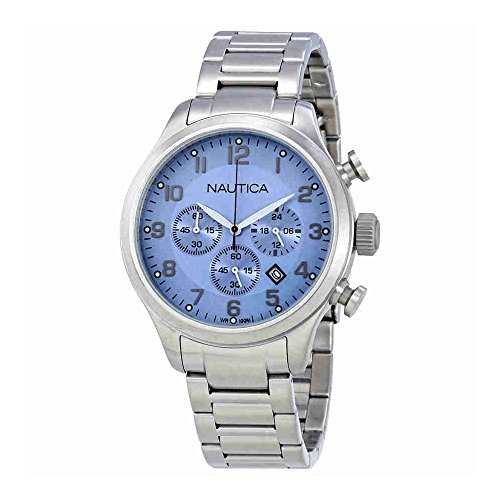 ice blue dial watch - 7