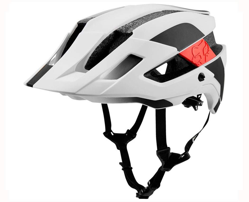 FOX(フォックス) FLUX 2.0 MIPS(フラックス2.0ミップス) ヘルメット [ホワイト/ブラック] S/M(56-58cm)  B07R3WCF4D