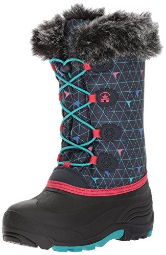 Kamik Girls' Snowgypsy2 Snow Boot, Navy, 5 Medium US Big Kid by Kamik