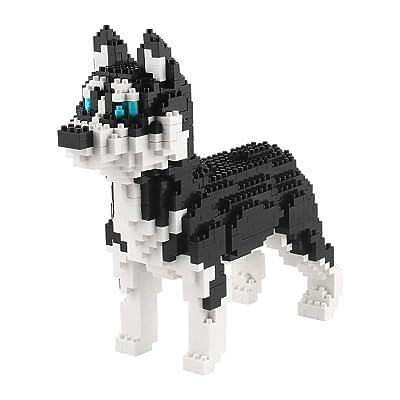 Bloque De Construcción, Bloque De Construcción Mini Dog Building Blocks Toy Bricks Pet Build Blocks, 3D Puzzle DIY Educational Toy, Juguetes Educativos Para Niños, Adecuado Para Niños, 950 Piezas: Deportes y aire libre