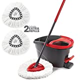 O-Cedar EasyWring Microfiber Spin Mop and Bucket Floor Cleaning...