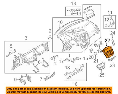 12-15 Ford Focus Center Dash Radio Navigation Console Instrument Panel Bezel -