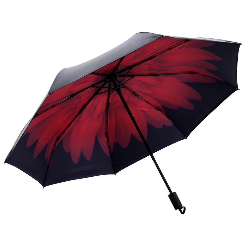 YSNBM Umbrella Mini Inverted Folding Umbrella - Compact Lightweight Windproof Travel Reverse Car Umbrellas for Men Women Multiple Colors Windproof, Rainproof,UV Protection, Sunblock, Sun