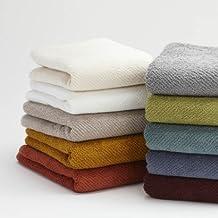 Coyuchi Organic Cotton Guest Towels - Set of 2 (Green Tea)