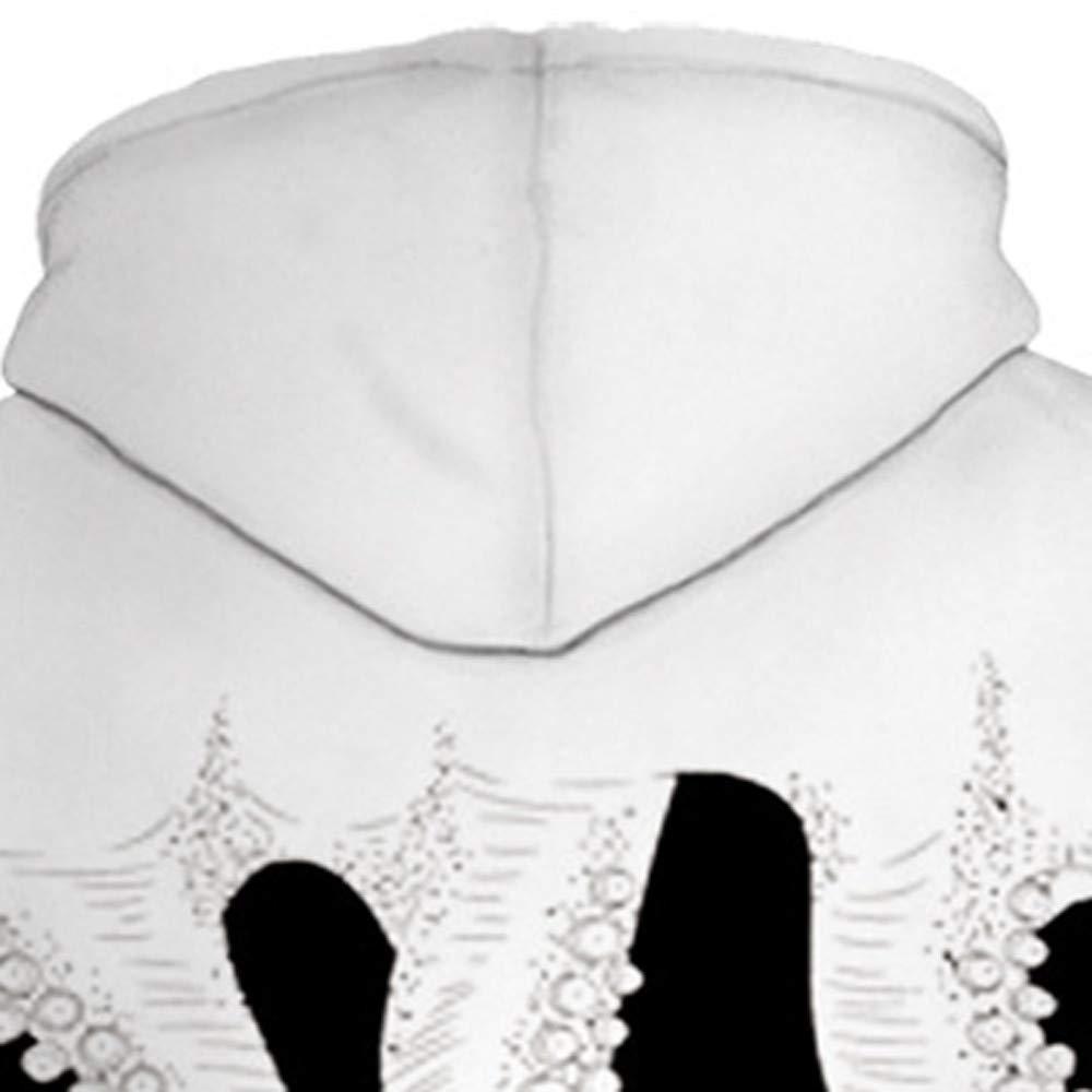 Princer Unisex Hooded Outwear,Winter Men Warm 3D Printed Wolf Pullover Hoodie Hooded Sweatshirt Top Coat